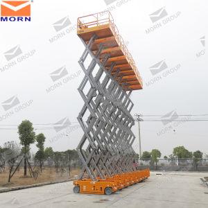 12m Self Drive Scissor Lift Platform pictures & photos