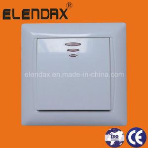 EU Style Flush Mounting One Way Switch Illuminated (F6101) pictures & photos