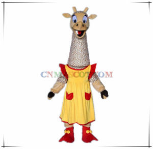 Good Sale Haha Giraffe Mascot Costume Authentic Quality