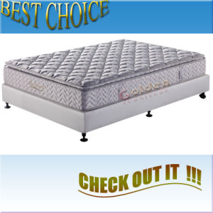 Bonnel Spring Mattress with Pillow Top (6802-1) pictures & photos