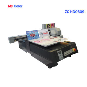 Mycolor A1 Size Small Size Factory UV Flatbed Printing Machine Price pictures & photos