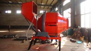 Wire Rope Hoisting Tipping Hopper Concrete Drum Mixer 500L 350L Mixer on Sale pictures & photos
