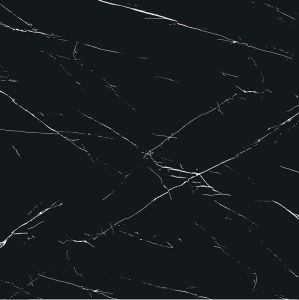 Black Marbling 6b007 Full Polished Porcelain Tile pictures & photos