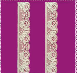 High Quality Elastic Lace Trim pictures & photos