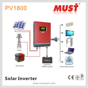 Must 5000va/4000va High Frequency MPPT Solar Controler Inverter pictures & photos