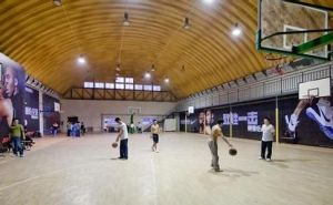 Corrugated Sheet Prefab Basketball Court pictures & photos