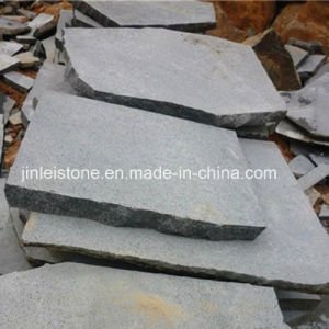 Natural Grey Basalt Paving Slab or Irregular Flagstone pictures & photos