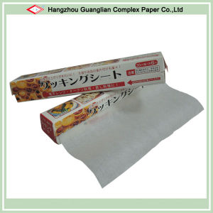 Siliconised Cooking Parchment Paper Roll pictures & photos
