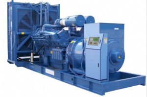 1925kVA High Voltage Diesel Generator Set (4160V-13800V, 25kVA-2500kVA) pictures & photos