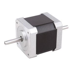 Double Shaft 1.68A 45ncm Bipolar NEMA 17 Stepper Motor for DIY CNC Robot Reprap pictures & photos
