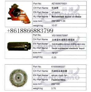Sinotruck HOWO Truck Spare Parts Silicone Oil Fan Clutch pictures & photos