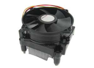 Aluminum Heatsink Active Cooling Fan CPU Cooler pictures & photos