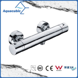Bathroom Brass Chromed Anti-Scald Thermostatic Shower Faucet (AF4223-7) pictures & photos