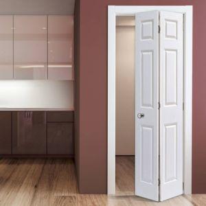China Wooden Interior Bathroom Folding Door - China Bathroom ...
