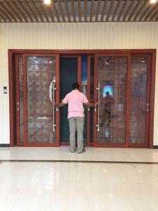 Aluminum Glass Sliding Door New Design pictures & photos