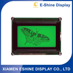 12864 Graphic Type FSTN DOT Matrix LCD Module with Green Backlight pictures & photos