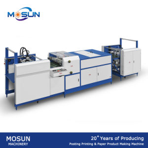 Msuv-650A Fully Auto Small UV Varnishing Equipment pictures & photos