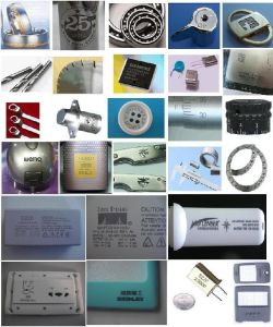 Fiber Laser Marking Stainless Steel Fiber with Touch Screen pictures & photos