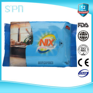 Private Label Window Cleaning Glass Surface Cleaning Wipes pictures & photos