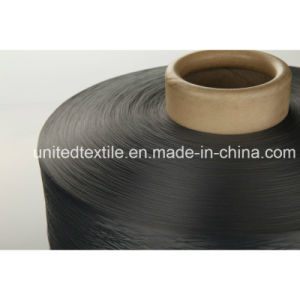 100% Polyester Dope Dyed Yarn with 600d/192f SD Him DTY for Denim Fabric pictures & photos