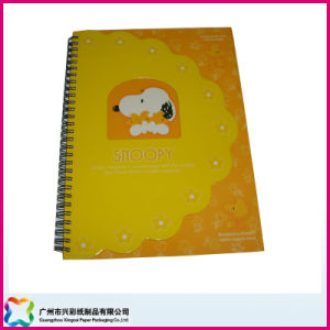 Custom Recyclable Softcover Spiral/Wire-O Binding Notebook for Promotion (xc-6-005) pictures & photos