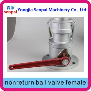 Aluminum Alloy Nonreturn Ball Valve Female pictures & photos