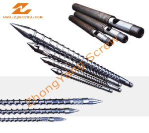 Injection Screw Barrel Plastic Machinery Screw Barrel Bimetallic Screw Barrel pictures & photos