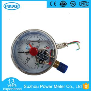 100mm 4′′ Chrome Plate Case Electric Contact Manometer pictures & photos