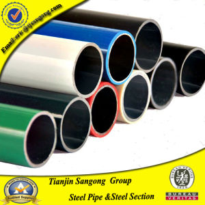 Welded Steel Tube with Plastic Resin Coating for Production Line pictures & photos