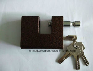 70mm Rectangle Iron Plastic Casing Padlock pictures & photos