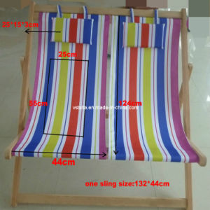 Outdoor Double Wooden Beach Chair pictures & photos
