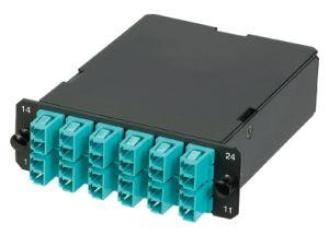 24 Core Om3 Fiber MPO Cassette pictures & photos
