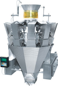 14 Heads Vegetable Weigher with Touch Screen (HT-W14B4) pictures & photos