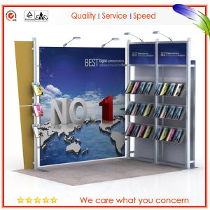 Customized Portable Modular Exhibition Booth Shell Scheme Kiosk Booth