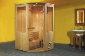 Monalisa Red Cadar Wooden Sauna Room (M-6008) pictures & photos