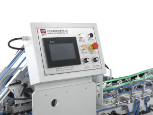 Xcs-800PF High-Speed Efficiency Folder Gluer for Long Lamp Box pictures & photos