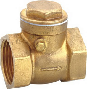 Brass Bronze Swing Check Valve (YD-3009) pictures & photos