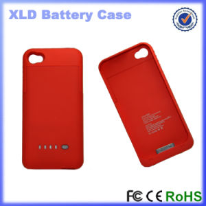 Emergency 1900mAh External Battery Charger Case for iPhone 4/4s (OM-PW4s) pictures & photos