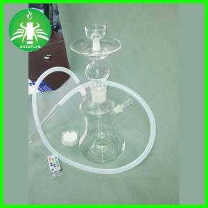 Russian LED Hookah Glass Smoking Water Hookahs E Hookan pictures & photos
