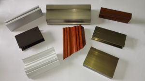 Aluminium Extrusion for Internal and External Doors pictures & photos