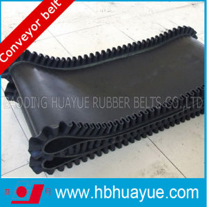 Corrugated 0- 90 Degree Inclined Conveyor Belt pictures & photos