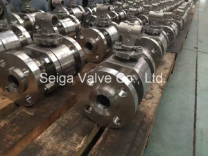 API High Pressure Stainless Steel Ball Valve pictures & photos