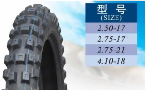 China Motorcycle Tyre Tube Price 2.75-17 pictures & photos