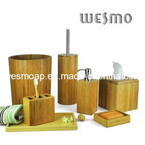 Carbonized Bamboo Bath Accessory (WBB0312A) pictures & photos