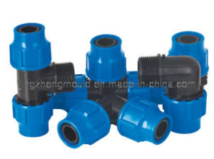 PP Compression Fitting Elbow Mould pictures & photos