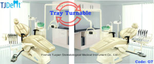 Instrument Tray Turnable Ce FDA Approved Dental Chair (G7) pictures & photos