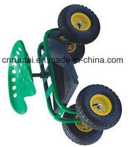 China Qingdao Garden Rolling Work Seats Tool Cart pictures & photos