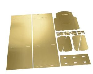 Laser Cutting Copper Parts pictures & photos