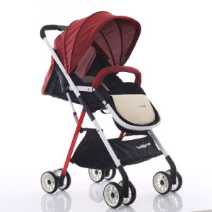 Four Colors Aluminum Alloy Frame Baby Carrier Umbrella Stroller Pram pictures & photos