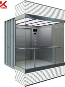 Fantastic Panoramic Elevator with Center Opening Door pictures & photos